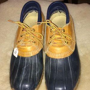 L.L. Bean hunting shoes